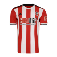 19/20 Sheffield United Home Red&White Soccer Jerseys Shirt