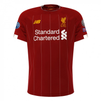 19/20 UCL Liverpool Home Red Soccer Jerseys Shirt