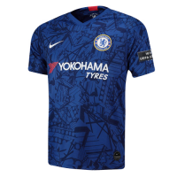 19/20 UCL Chelsea Home Blue Soccer Jerseys Shirt