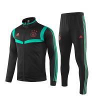 19/20 Ajax Black&Green High Neck Collar Training Kit(Jacket+Trouser)