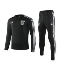 19/20 Benfica Black Sweat Shirt Kit(Top+Trouser)
