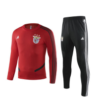 19/20 Benfica Red Sweat Shirt Kit(Top+Trouser)