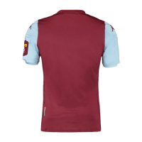 19/20 Aston Villa Home Red&Blue Soccer Jerseys Shirt