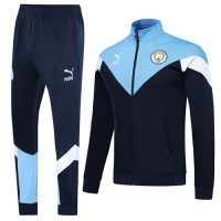 19/20 Manchester City Navy Training Kit(Jacket+Trouser)
