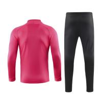 19/20 PSG Pink V-Neck Training Kit(Jacket+Trouser)
