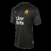 19/20 Marseille Third Away Black Jerseys Shirt