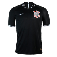 19-20 SC Corinthians Away Black Jerseys Shirt