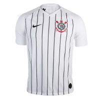 19-20 SC Corinthians Home White Jerseys Shirt