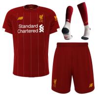 19-20 Liverpool Home Red Soccer Jerseys Kit(Shirt+Short+Socks)