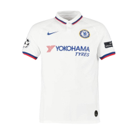 19/20 UCL Chelsea Away White Soccer Jerseys Shirt