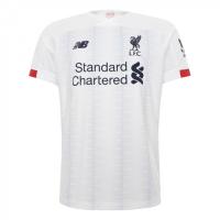 19/20 Liverpool Away White Soccer Jerseys Shirt