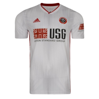 19/20 Sheffield United Away White Soccer Jerseys Shirt