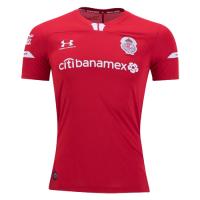 19/20 Deportivo Toluca Home Red Jerseys Shirt