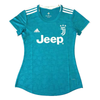 19/20 Juventus Third Away Blue Women's Jerseys Shirt