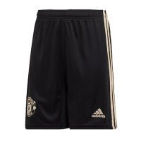 19/20 Manchester United Away Black&Khaki Jerseys Short