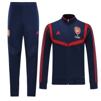 19/20 Arsenal Navy&Red High Neck Collar Training Kit(Jacket+Trouser)