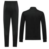 19/20 Borussia Dortmund Black High Neck Collar Training Kit(Jacket+Trouser)