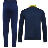19/20 Tigres UANL Navy&Yellow High Neck Collar Training Kit(Jacket+Trouser)