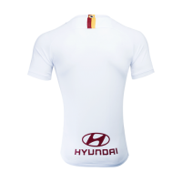 19-20 Roma Away White Soccer Jerseys Shirt
