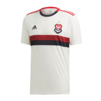 19/20 CR Flamengo Away White Soccer Jerseys Shirt