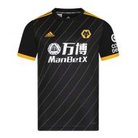 19/20 Wolverhampton Wanderers Away Black Soccer Jerseys Shirt