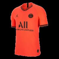 19/20 PSG JORDAN Away Red&Orange Soccer Jerseys Shirt(Player Version)