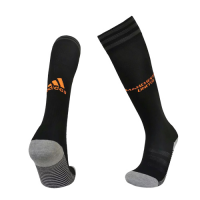 19/20 Manchester United Third Away Black&Orange Jerseys Socks