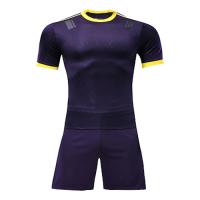 Customize Team Purple&Yellow Player Version Soccer Jerseys Kit(Shirt+Short)