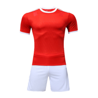 Customize Team Red&White Player Version Soccer Jerseys Kit(Shirt+Short)