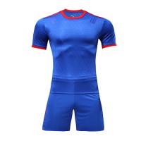 Customize Team Blue&Red Player Version Soccer Jerseys Kit(Shirt+Short)