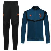 19/20 Juventus Navy High Neck Training Kit(Jacket+Trouser)