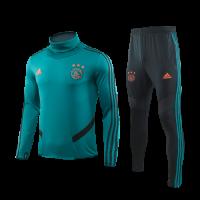 19/20 Ajax Dark Green High Neck Sweat Shirt Kit(Top+Trouser)