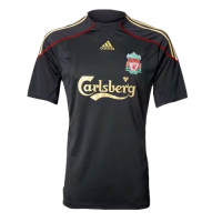 09/10 Liverpool Away Black Retro Jerseys Shirt
