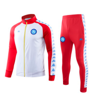 19/20 Napoli Red High Neck Collar Training Kit(Jacket+Trouser)