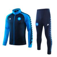 19/20 Napoli Blue High Neck Collar Training Kit(Jacket+Trouser)