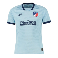 19/20 Atletico Madrid Third Away Blue Soccer Jerseys Shirt