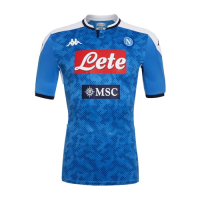 19/20 Napoli Home Blue Soccer Jerseys Shirt(Player Version)