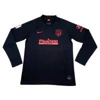 19/20 Atletico Madrid Away Black Long Sleeve Jerseys Shirt
