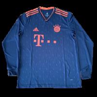 19/20 Bayern Munich Third Away Navy Long Sleeve Jerseys Shirt