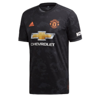 19-20 Manchester United Third Away Black Jerseys Shirt