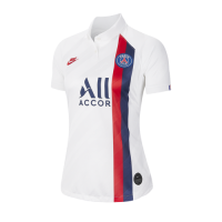19/20 PSG Third Away White Women's Soccer Jerseys Shirt