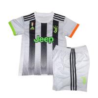 19/20 Juventus X Palace Home White Children's Jerseys Kit(Shirt+Short)