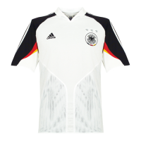 2004 West Germany Retro Home Soccer Jerseys Shirt