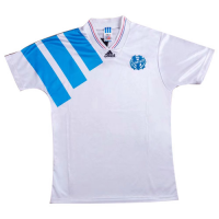 92/93 Marseille Home White Jerseys Shirt