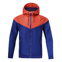 Customize Team Red&Blue Woven Windrunner
