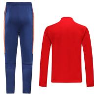 2019 Spain Red High Neck Collar Training Kit(Jacket+Trouser)