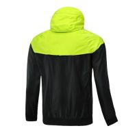 Customize Team Green Woven Windrunner