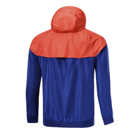 Customize Team Red&Blue Woven Windrunner