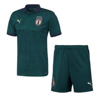 19/20 Italy Third Away Green Soccer Jerseys Kit(Shirt+Short)