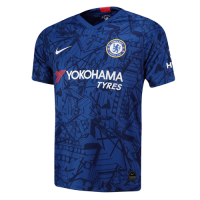19-20 Chelsea Home Blue Soccer Jerseys Shirt